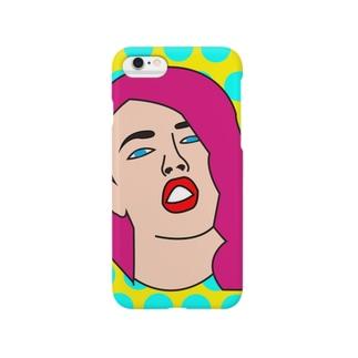 ポップアート Smartphone cases