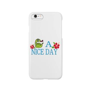 ハブ a nice day Smartphone cases