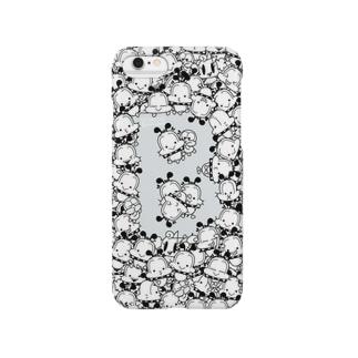 うじゃっとゆるボブ(モノトーン)ver.2 Smartphone cases