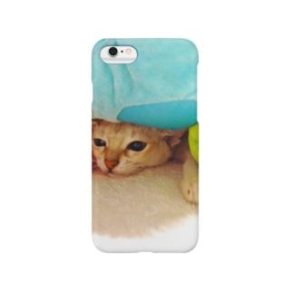 猫の俺だって色々な重圧と戦ってんだYO!シリーズ Smartphone cases