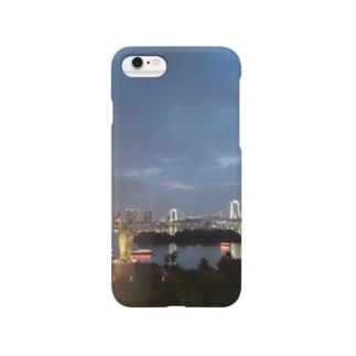雨上がりのお台場 Smartphone cases