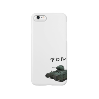 quneaのアヒルTシャツ(AMX 40) Smartphone cases
