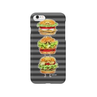 ハンバーガー紳士。 Smartphone cases