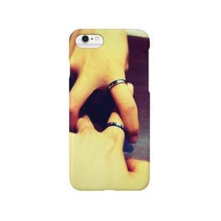 お揃い。 Smartphone cases