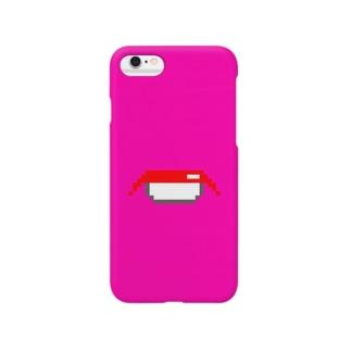 sushi(pink) スマートフォンケース