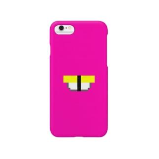 sushi(tamago)(pink) Smartphone cases