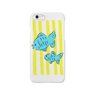 夏色金魚 Smartphone cases
