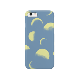 jiyugaokaのMOON Smartphone cases