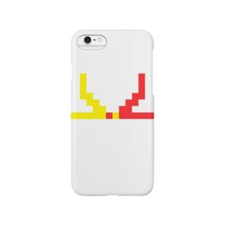 ドット水引(結び切り) Smartphone cases