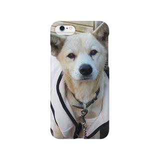 雑種犬(第3の犬)ニコニコ笑う Smartphone cases