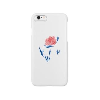 花と葉 Smartphone cases