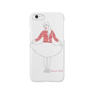 マーガレットさん Smartphone cases