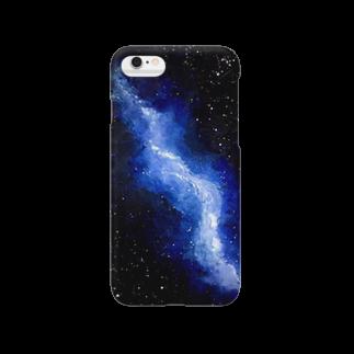 miyuki_earthful_artの宇宙翔ける龍 Smartphone cases