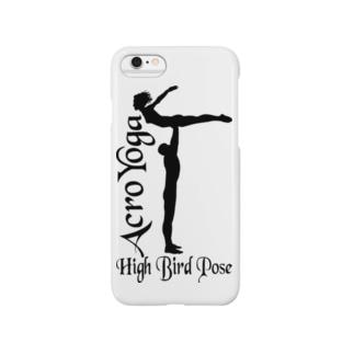 AcroYoga HighBirdPose Smartphone cases