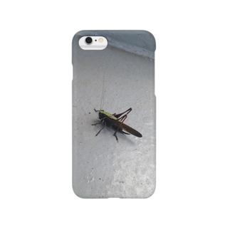 飛蝗(バッタ) Smartphone cases