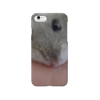見つめるハム Smartphone cases