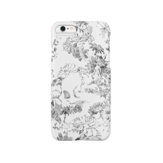 【Diamond Flowers】SKULL ZONE Smartphone cases