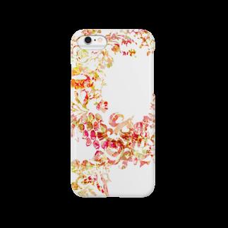 ぷいぷいショップの【Diamond Flowers】LIP ABILITY Smartphone cases