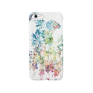 ぷいぷいショップの【Diamond Flowers】CLYSTAL Smartphone cases
