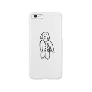 バスケ犬 Smartphone cases