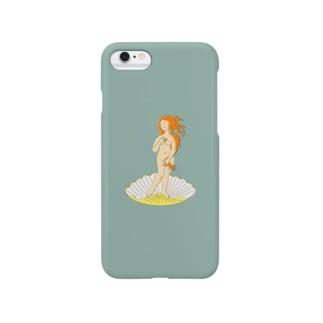 ボッティチェリ「ヴィーナスの誕生」 Smartphone cases