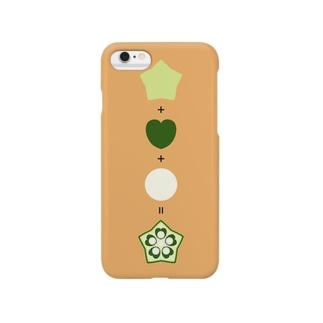 オクラ算 Smartphone cases