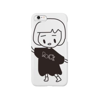前髪心電図ちゃん Smartphone cases