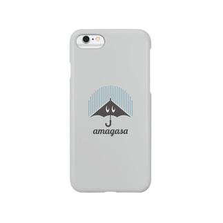 あまがさくん Smartphone cases