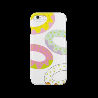 @cagari.nikoのラブリードーナッツ Smartphone cases