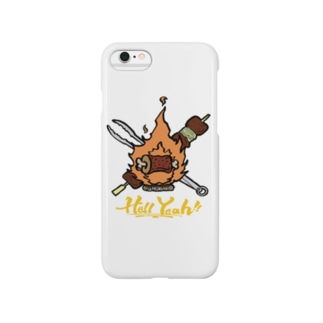 """BBQ LOVERS """"Hell Yeah!!"""" Smartphone cases"""