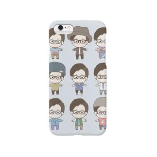 メガネ系男子 Smartphone cases