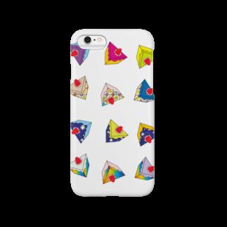 @cagari.nikoのラブリーケーキっ♪ Smartphone cases