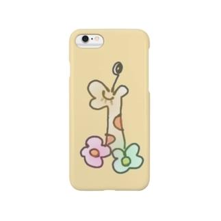 ほのぼのキリン Smartphone cases