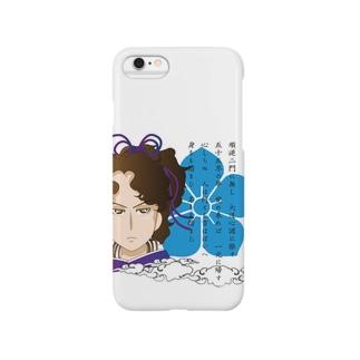 武将シリーズ(明智光秀) Smartphone cases