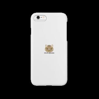 株式会社猫 (Aloha Mac Creation)のオリジナルニャンコ(majio店長顔だけVer) Smartphone cases
