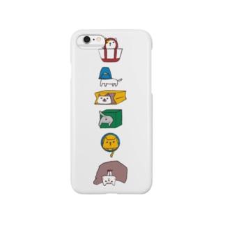 挟まった猫 Smartphone cases