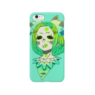 グリーングリーン Smartphone cases