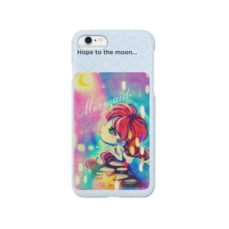 Mermaid_Hope to the moon… Smartphone cases