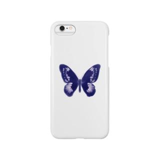 宇宙蝶々一点 Smartphone cases