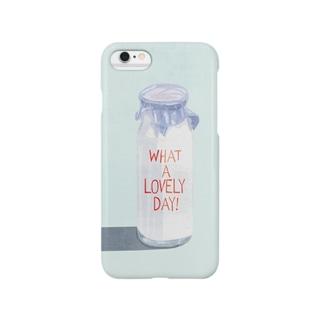 いい朝 Smartphone cases