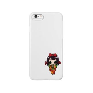 お福ちゃん Smartphone cases