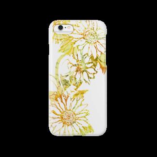 ぷいぷいショップのSUN Flower Smartphone cases