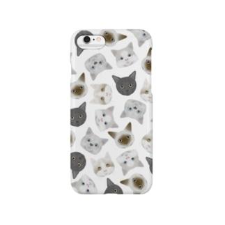 ねこねこiPhoneケース Smartphone cases
