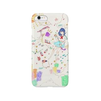 空中浮遊 色恋ver. Smartphone cases