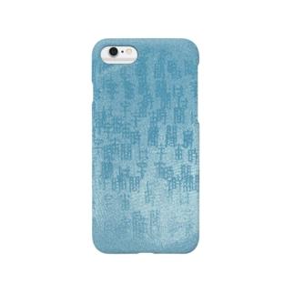 宇宙は-blue- Smartphone cases