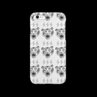ROCK 'N' ROLL TIGER ロックンロール タイガーのトラ Smartphone cases