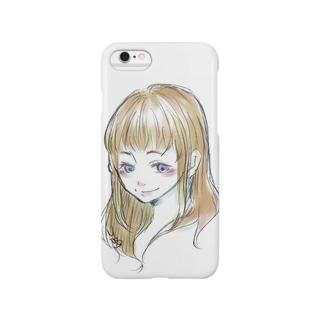 愛しく見つめる少女 Smartphone Case