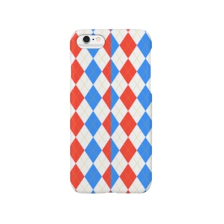 rED aND bLUE Smartphone cases