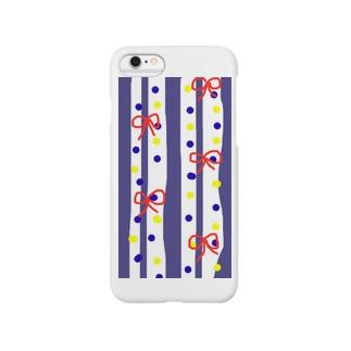 手拭い柄風 Smartphone cases