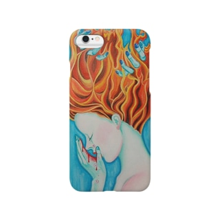 く ら げの人魚の涙 Smartphone cases